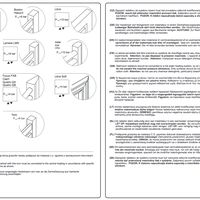 LIBRA AUDIO LA Universal mounting instructions