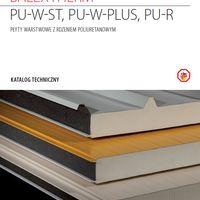 PWD Płyty warstwowe z rdzeniem poliuretanowym - katalog techniczny