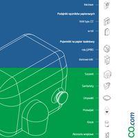 Toilet paper dispenser GEO Catalogue PL