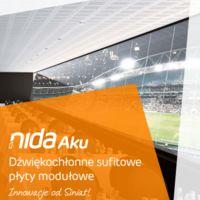 Płyta modułowa NIDA Aku L5x80n12 Broszura