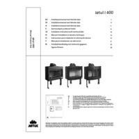 Jøtul I 400 Flat Installation manual with technical data