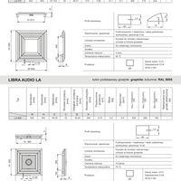 Libra Soft LS Libra Soft LS - karta katalogowa