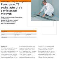 Fermacell Powerpanel TE Elementy jastrychowe cementowy TE
