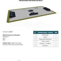 Skatepark modułowy nr 490115 Karta produktowa