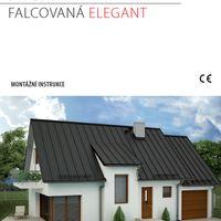 Standing seam roof panel ELEGANT Standing seam roof panel ELEGANT - assembly instructions