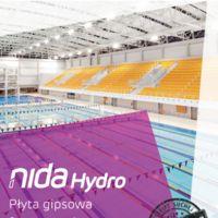 Płyta NIDA Hydro NIDA Hydro zastosowanie wewnętrzne