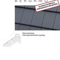 Bergamo Bergamo - informacje techniczne i wymiary
