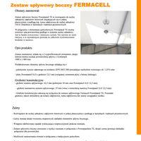 Zestaw spływowy boczny fermacell Zestaw spływowy boczny FERMACELL - opis montażu
