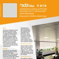 Płyta modułowa NIDA Aku R8/18n3 Karta produktu