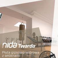 Płyta NIDA Twarda Broszura produkcyjna