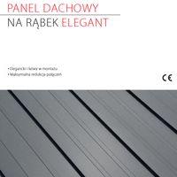 Standing seam roof panel ELEGANT Standing seam roof panel ELEGANT - leaflet