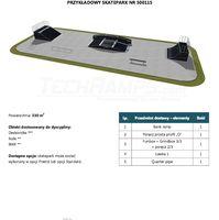 Skatepark modułowy nr 500115 Karta produktowa