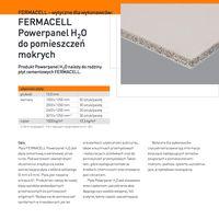 Fermacell Powerpanel H2O Płyta cementowa H2O - do pomieszczeń mokrych