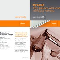 Płyty gipsowo - włóknowe fermacell Instrukcja montażu płyt
