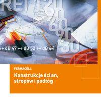 Płyta Fermacell Powerpanel HD Konstrukcje ścian stropów i podłóg