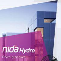 Płyta NIDA Hydro NIDA Hydro zastosowanie zewnętrzne
