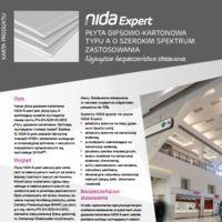 Płyta NIDA Expert Karta produktu