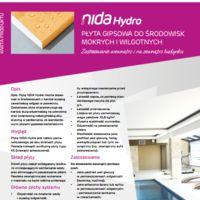 Płyta NIDA Hydro Karta produktowa