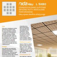 Płyta modułowa NIDA Aku L5x80n12 Karta produktu