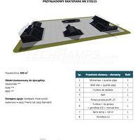 Skatepark modułowy nr 570115 Karta produktowa