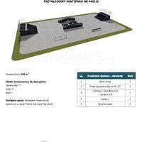 Skatepark modułowy nr 440115 Karta produktowa