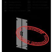 Drzwi prysznicowe Arta DWD Instrukcje