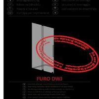 Drzwi wnękowe Furo DWJ Instrukcje