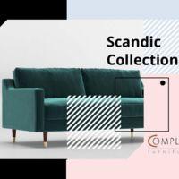 Sofa dwuosobowa  Scandynavia Katalogi