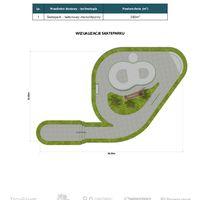 Skatepark 380 m2 Katalogi
