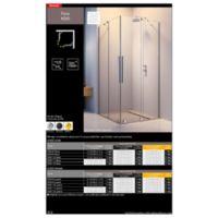 Shower enclosure Furo KDD Catalogs