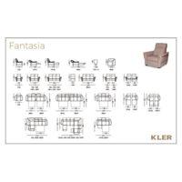 KLER  FANTASIA Technical drawings