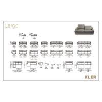 KLER  LARGO Technical drawings