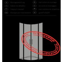 Shower enclosure Idea PDD Instructions