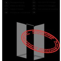 Shower enclosure Walk-in: Modo X / Modo New Black III Frame Instructions