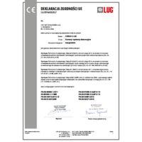 CIRRUS 2 LED Certyfikaty