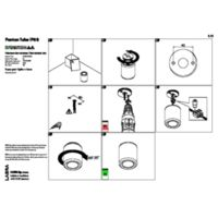 Panton Tube NT IP65 Instructions