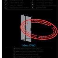 Drzwi wnękowe Idea DWJ Instrukcje