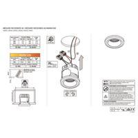 Medard recessed Instructions