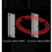 Shower doors Essenza New DWJ Instructions