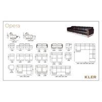 KLER  OPERA Technical drawings