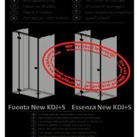 Kabina prysznicowa Essenza New KDJ+S Instrukcje