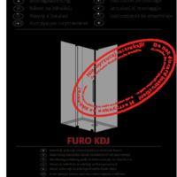 Kabina prysznicowa Furo KDJ Instrukcje