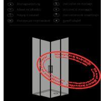 Cabine de douche Idea KDD Instructions