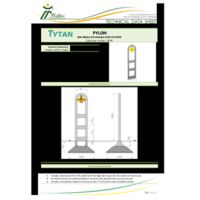 Pylon for 1 or 2 Gym Station Instructions