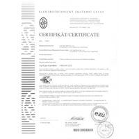 URBANO LED Certyfikaty