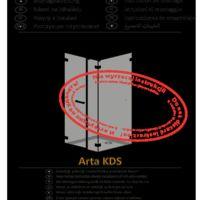 Kabina prysznicowa Arta KDS I Instrukcje