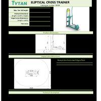 Elliptical Cross Trainer Instructions