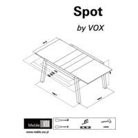 Stół rozkładany Spot Instrukcje
