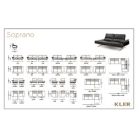 KLER  SOPRANO Technical drawings