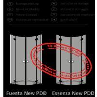 Shower enclosure Fuenta New PDD Instructions